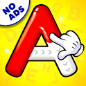 ABC Tracing & Phonics for Preschoolers & Kids Game icon