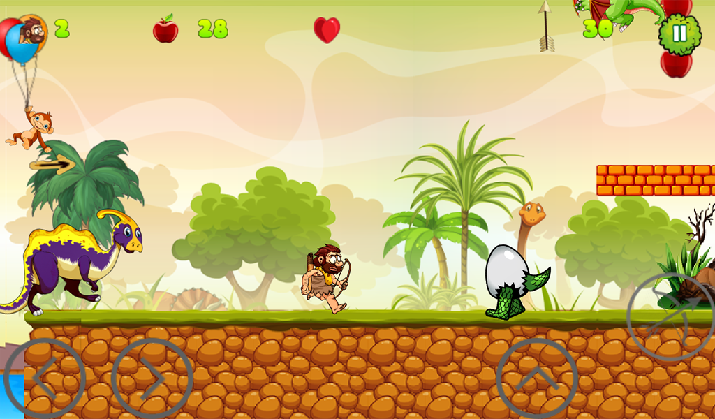 Caveman Adventure- screenshot