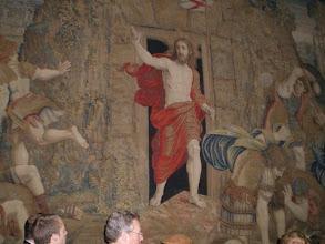 Photo: Christ's Resurrection Tapestry