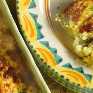 Overnight Mexican Egg Casserole.