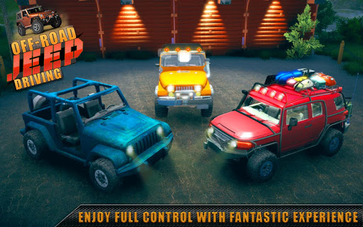 Offroad Jeep Driving & Racing apkpoly screenshots 3