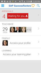 SuccessFactors- screenshot thumbnail