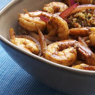 Zesty Shrimp and Quinoa.
