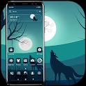 Full Moon Wolf Theme icon