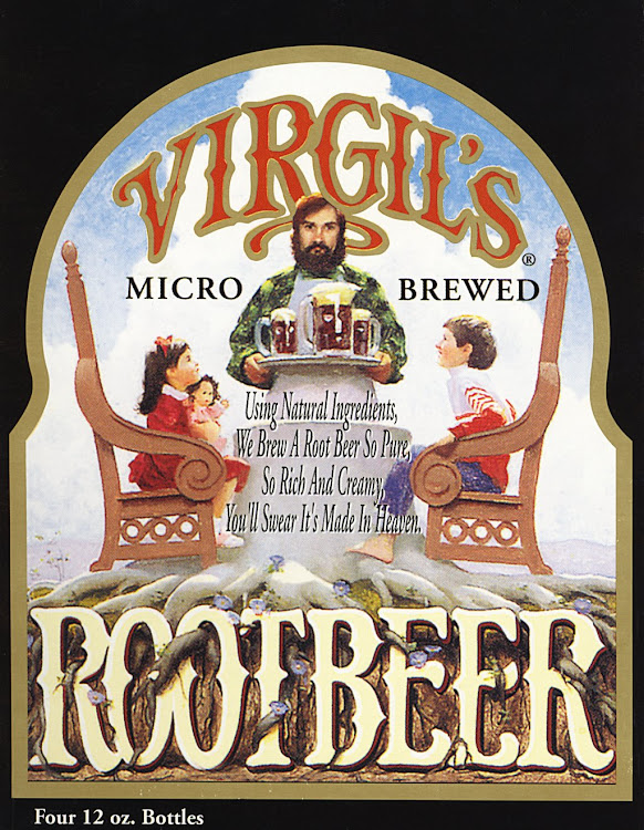 Logo for Virgil's Root Beer