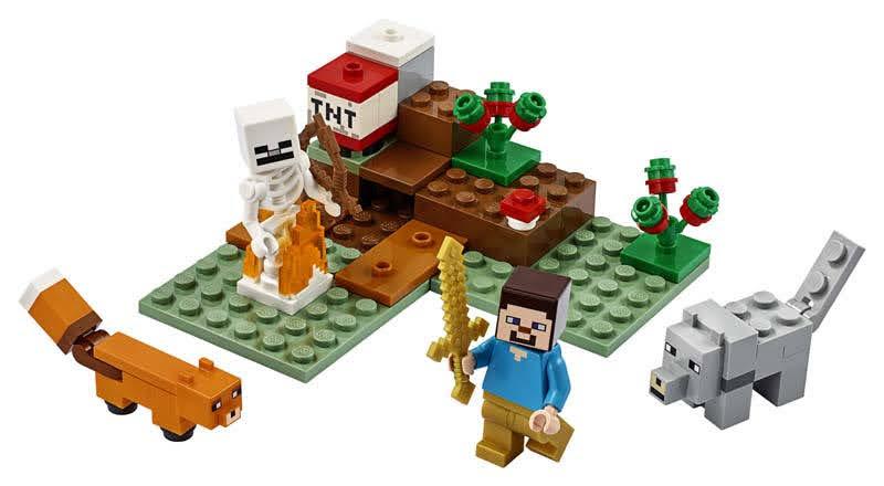 Contenido de Lego® 21162 La Aventura en la Taiga