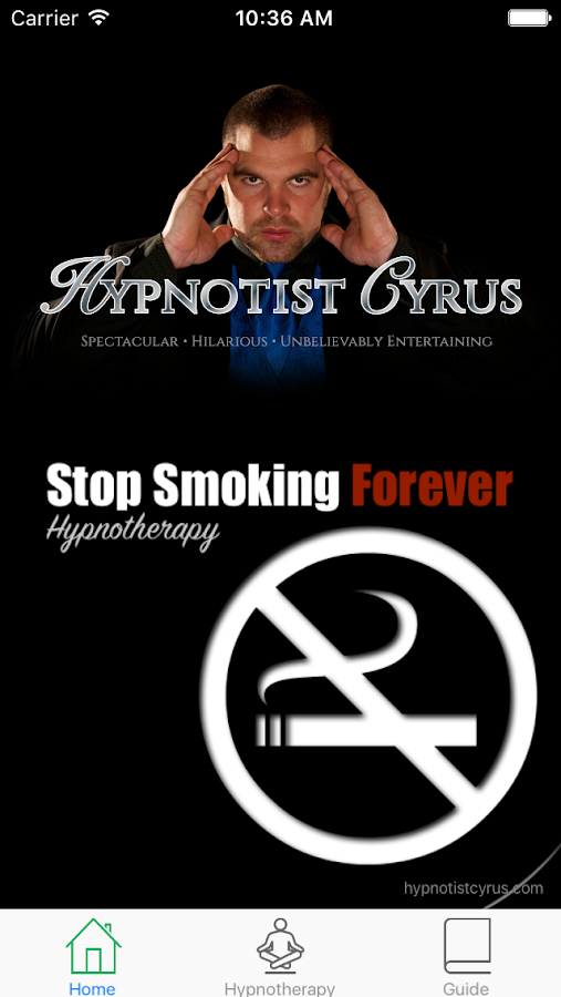 Cyrus Stop Smoking Hypnosis- screenshot