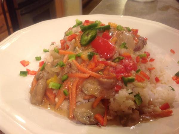 Skillet Pork Steaks With Vegetables Recipe