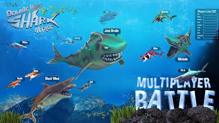 Double Head Shark Attack - Multiplayer APK screenshot thumbnail 2