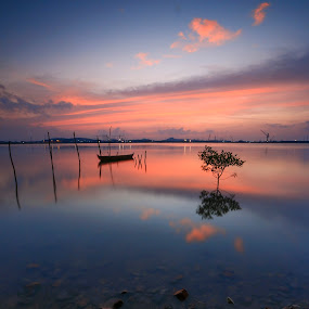 SILENT by Andi Setiawan - Landscapes Beaches ( photographer, lake, landscape, photo, batam, photography,  )