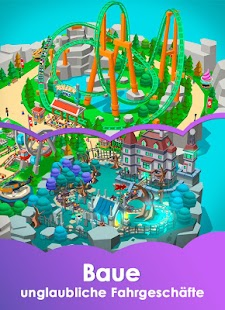 Idle Theme Park Tycoon - Recreation Game Screenshot