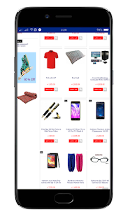 QuickCelo Online Shopping App - náhled