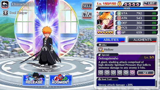 BLEACH Brave Souls Mod Apk 10.0.0 (God Mode + One Hit Kill + No Ads) 5