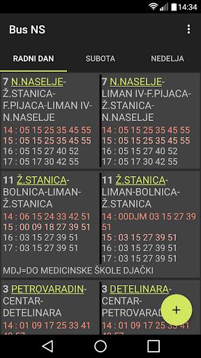 BusNS  Gradski prevoz Novi Sad screenshot