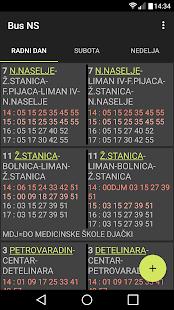 BusNS Gradski prevoz Novi Sad - náhled