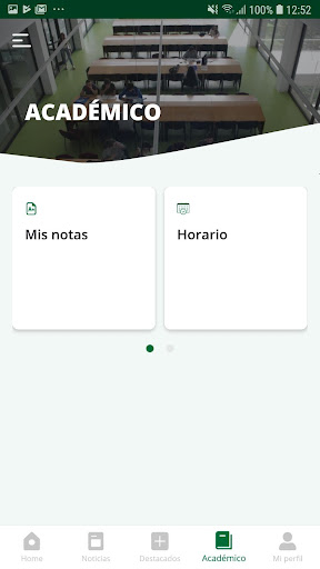 La App oficial de la Universidad de Jaén screenshot 7