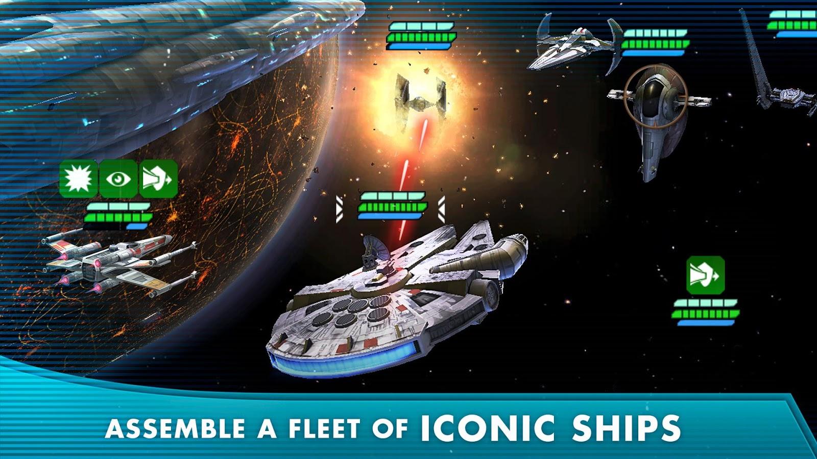 Star Wars Galaxy of Heroes – zrzut ekranu