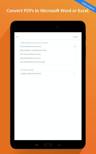 Adobe Acrobat Reader: PDF Viewer, Editor & Creator screenshot 15
