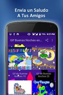 Gif de Buenas Noches en Español - náhled