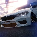 Stunt BMW M5 Parking Simulator icon