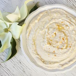 Vegan Lemony White Bean Hummus