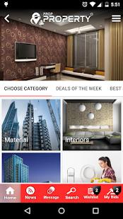 Prop Property App - náhled