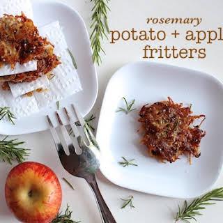 Rosemary Potato + Apple Fritters.