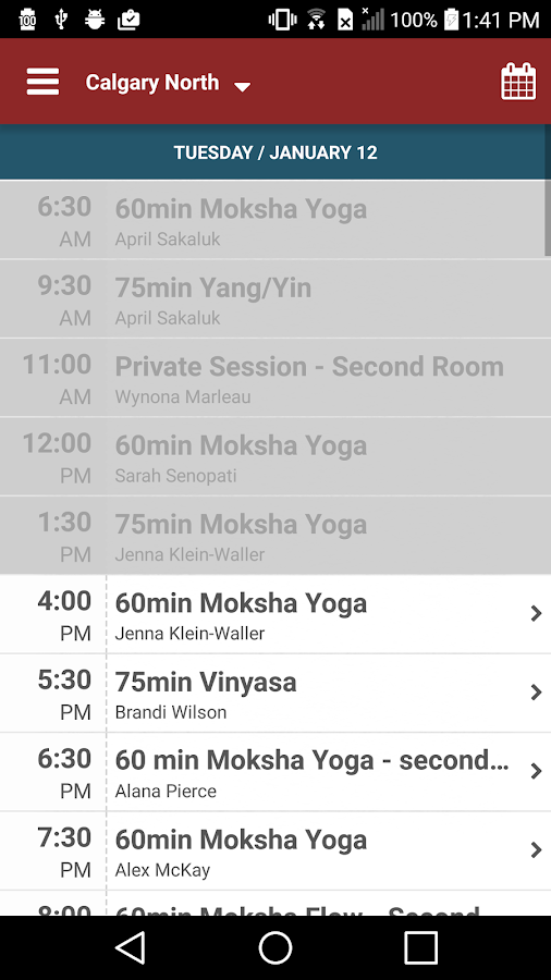 Moksha Hot Yoga- screenshot