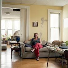 Photo: title: Katie Brown, Portland, Maine date: 2012 relationship: friends, art, met through Sara Cox years known: 15-20