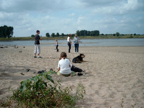 Photo: The Rhine beach...