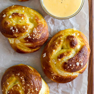Homemade Soft Pretzel Knots