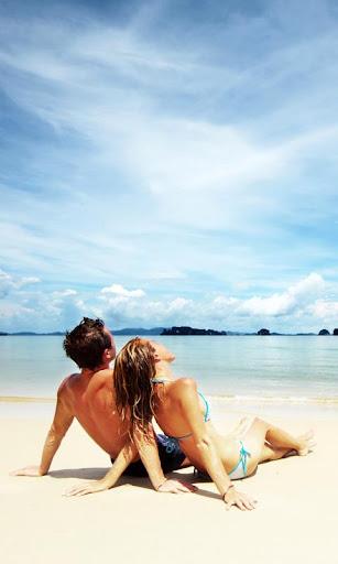 愛海灘壁紙