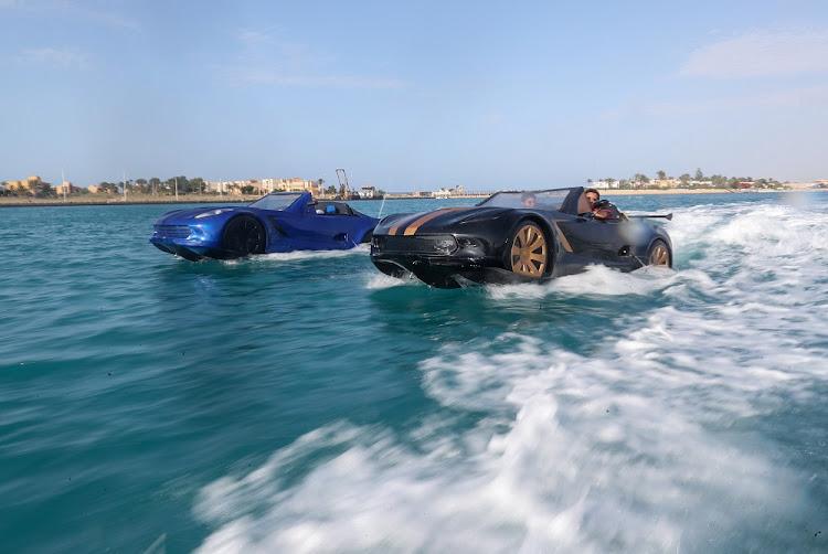 像詹姆斯邦德电影中的东西 - 当你只用你的车时,为什么要打扰一艘船?