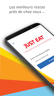 Just Eat (AlloResto) - Livraison restaurant Capture d'écran