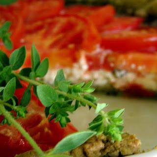 Savory Tomato and Feta Crostata.