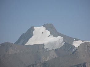 Photo: Shait, 25 years UzSSR peak (view from Kudoyar pass)