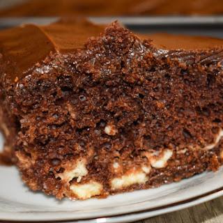 Grandma'S Fanciful Double Chocolate Fudge Cake Recipe