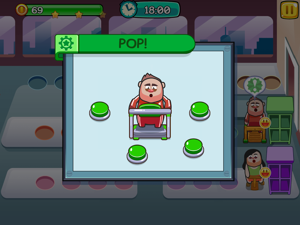 Fat to Fit - Fitness and Weight Loss Gym Game- screenshot