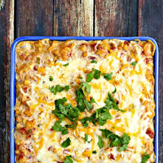 Hot Mexican Corn Dip.