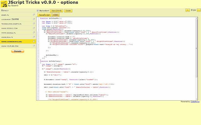 JScript tricks
