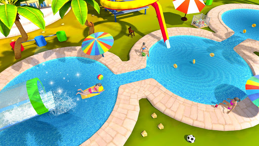 Water Parks Extreme Slide Ride : Amusement Park 3D 1.32 screenshots 3
