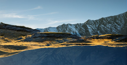 Photo: A photo from this morning from atop Deer Park Heights in Queenstown.
