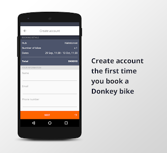 Donkey Republic - Rent a bike- screenshot thumbnail