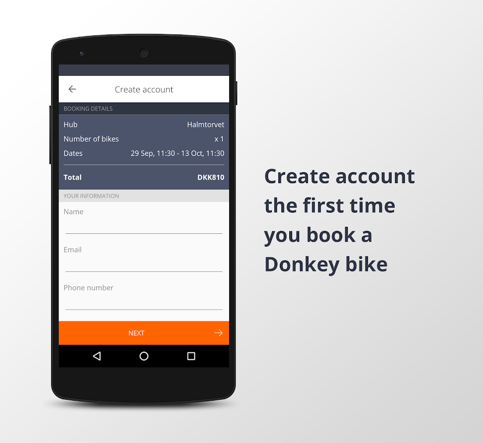 Donkey Republic - Rent a bike- screenshot