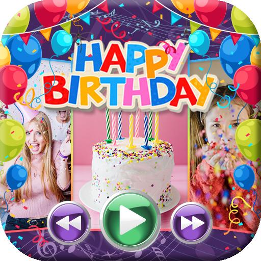 Happy Birthday Video Maker Slideshow With Music