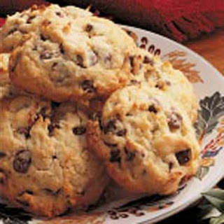 Coconut Chocolate Chip Cookies.