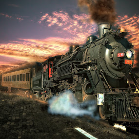 Mikado 29, Departing by Nickel Plate Photographics - Transportation Trains