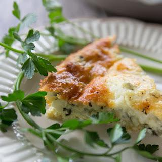 Spinach Artichoke & Parmesan Breakfast Pie