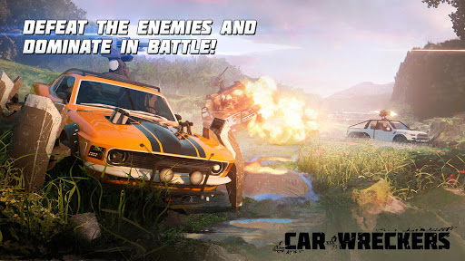Car Wreckers Beta: Robot Cars PvP Shooter Warfare u0635u0648u0631 2