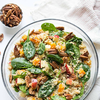 Fall Quinoa Salad with Butternut Squash and Apples Recipe